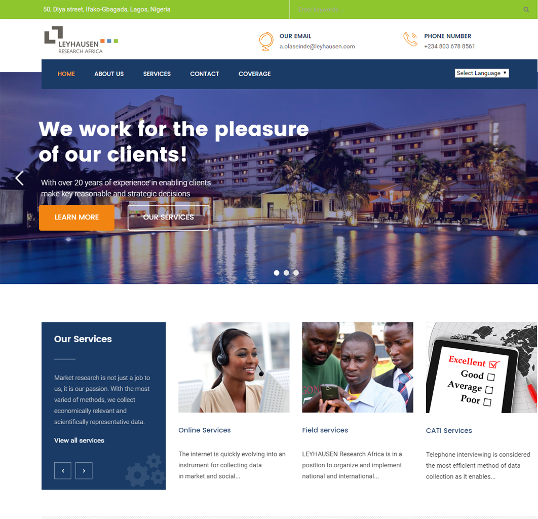 Web design Nigeria